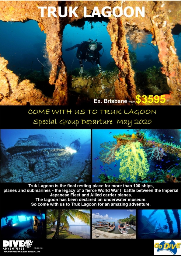 Truk Lagoon Dive Trip May 2020
