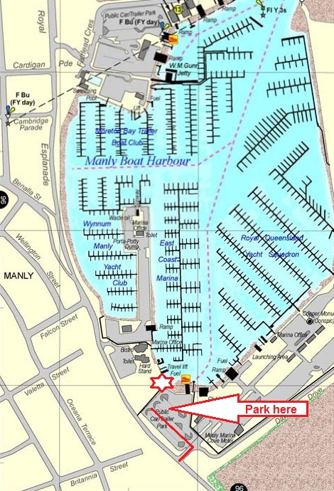 Directions to DiveQuest at East Coast Marina